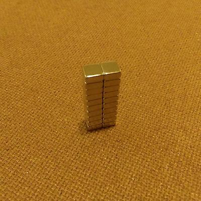 20 N45 Neodymium 14 X 14 X 18 Inches Blockbar Magnet.