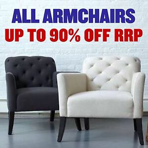 HUGE ARMCHAIR CLEARANCE - UP TO 90% OFF RRP Granville Parramatta Area Preview