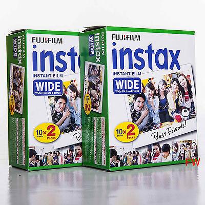 Fuji INSTAX WIDE Film 4 x 10 = 40 Bilder für Instax Kamera 100 200 210 300