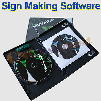 WinPCsign Basic 2009 Sign Making  Contour Software For Plotter Vinyl Cutter