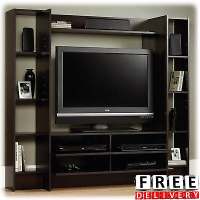 Entertainment Center Wall Unit TV Stand 42