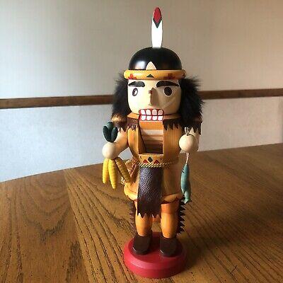 "Christian Ulbricht Nutcracker Native American 12"""
