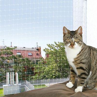 Katzenschutznetz Katzennetz transparent Meterware