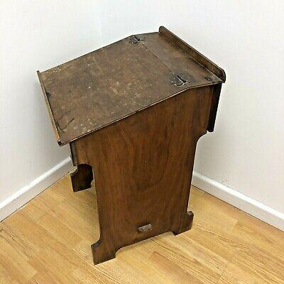 Vintage Children's School Desk - Childs Room Writing Desk - Solid Wood Lift Lid