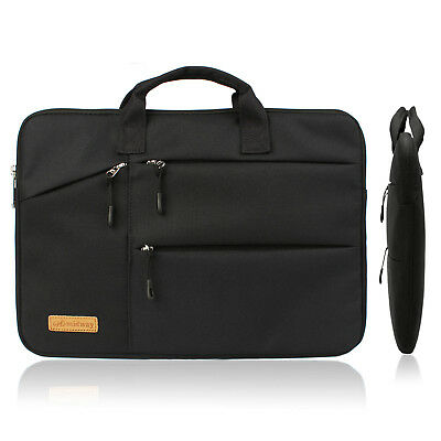Best 15.6 Inch Slim Laptop Sleeve Bag Case with Small Pockets for Laptop