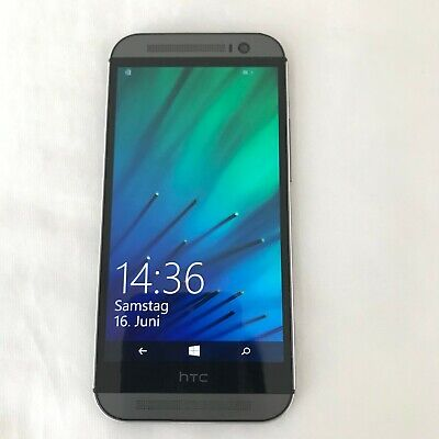 HTC ONE M8 WINDOW VERIZON UNLOCKED 32GB Gunmetal Gray