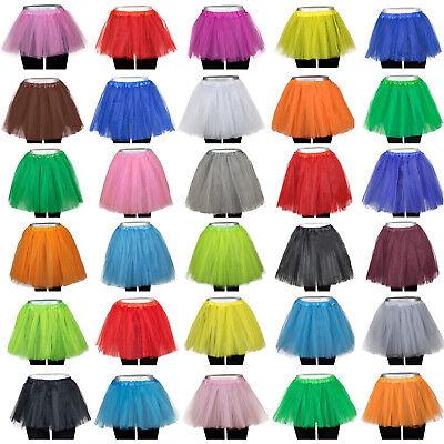 ock Tüllrock 3-5 Lagen Petticoat Fasching Karneval Rock Kleid (Damen Petticoat)