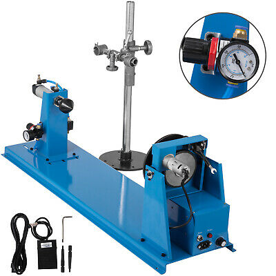 Rotary Welding Positioner Turntable Table Pneumatic Tailstock Torch Holder 10kg