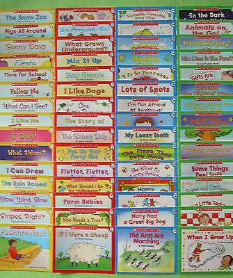 60 Kindergarten First Grade Beginning Learn to Read Childrens Books Lot Set NEW
