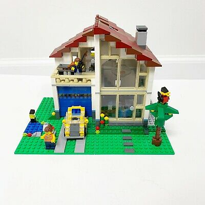Lego Creator Family House 31012 Retired Complete Minifigures Instructions