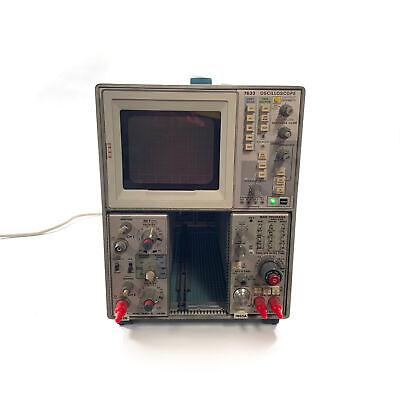 Tektronix 7633 Oscilloscope 100mhz With 7a26 7b53a Plug-ins Partsrepair