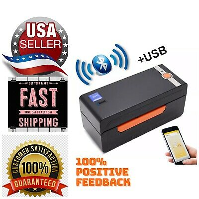 Beeprt4x6 High Speed Direct Thermal Shipping Label Barcode Printer Usbbluetooth