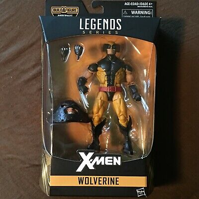 Marvel Legends Wolverine and Juggernaut BAF head