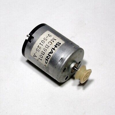 12v Dc Small Electric Motor With 10.4 Mm Pulley For Electronic Robotic Diy