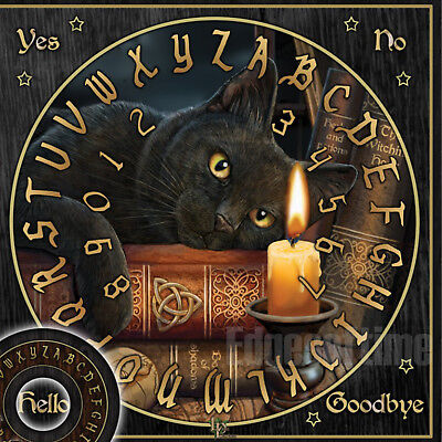 Spirit Halloween Hours (WITCHING HOUR CAT SPIRIT BOARD WICCA PAGAN GOTHIC OCCULT WICCA PAGAN)