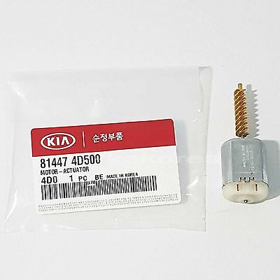 Genuine 814474D500 Door Lock Actuator Motor For KIA SEDONA CARNIVAL 2006-2014
