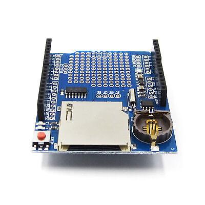 Data Logger Module Logging Shield Recorder Ds1307 For Arduino Uno Sd Card Bbc