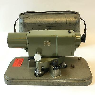 Vintage Wild Heerbrugg Leica Na2 Surveying Level Equipment Precise Level