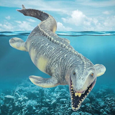 Big Mosasaurus Realistic Dinosaur Toy Soft PVC Action Figure Best Gift for Kids - Realistic Dinosaur