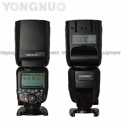 Yongnuo YN600EX-RT II Wireless Flash Speedlite TTL Master for Yongnuo YN-E3-RT