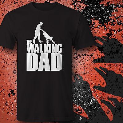 The Walking Dad T-Shirt Fun Papa Eltern Vatertag Geschenk idee Geburt