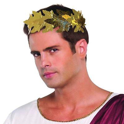 Römische Lorbeeren. Blattgold, Griechische, Toga Party Kopfbedeckung, - Römische Kopfbedeckung Kostüm
