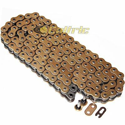 520 X 120 Links Motorcycle Atv Golden O-Ring Drive Chain 520-Pitch 120-Links