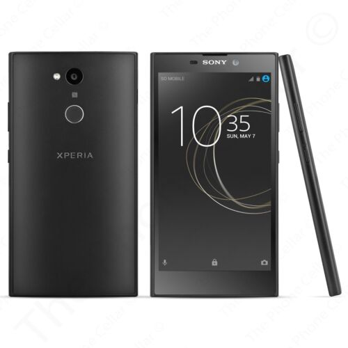 Sony Xperia L2 4G LTE with 32GB Memory Cell Phone (Unlocked) Black H3321