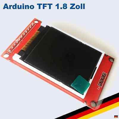 1,8 Zoll TFT LCD Display Modul 128x160 SPI SD ST7735 Arduino Raspberry Pi Lcd-display-modul