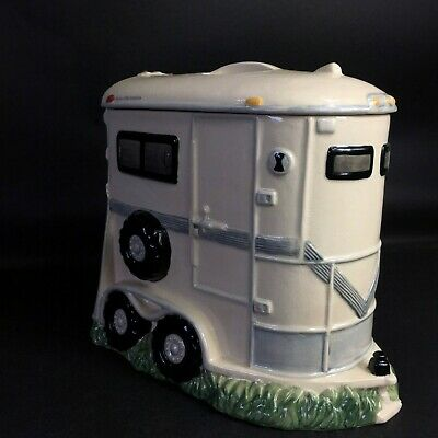 Montana Lifestyles Horse Trailer Cookie Jar, Horse Chip Cookies, Large
