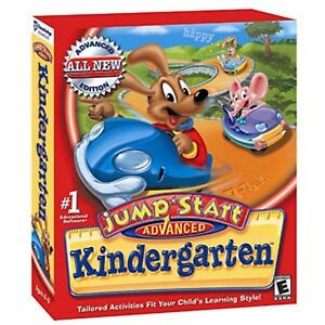 JUMPSTART ADVANCED KINDERGARTEN 3.0 * PC JUMP START * BRAND NEW