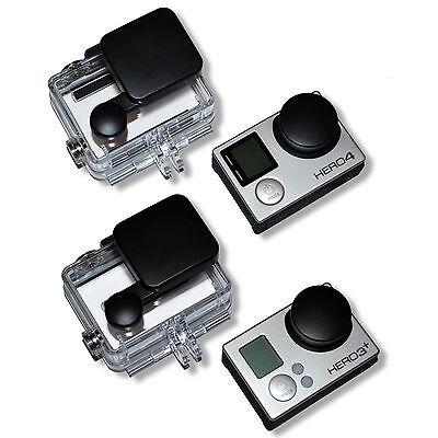 GoPro Hero 3+ und 4 Linsenschutz Kappe/Schutzkappe/Objektivdeckel/Schutz Deckel