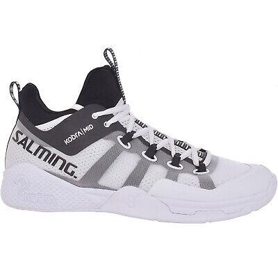 Salming Hawk Indoor Squash Trainers Mens White Badminton Footwear Sports Shoes