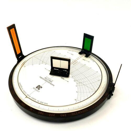 MAREAN-KIELHORN Director WW2 Lifeboat Navigation Sextant Compass
