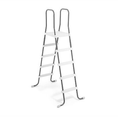 Intex Steel Frame Above Ground Swimming Pool Ladder for 52