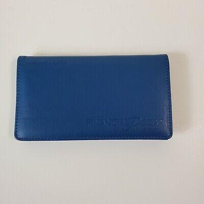 Dave Ramsey Financial Peace University Envelope Money System Blue Wallet Budget