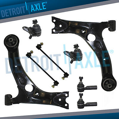 - Front Lower Control Arms Outer Tierod for 2003-2008 Toyota Matrix Pontiac Vibe