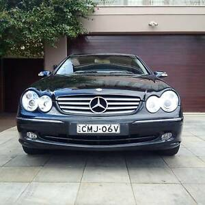 Beautiful Combo Black on Beige 2002 Mercedes-Benz CLK320 Coupe Camden Camden Area Preview