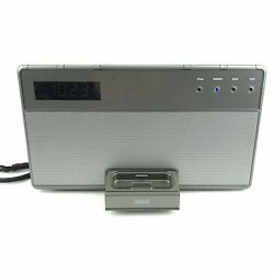 RCA RC65i-A Clock, Radio,AUX, i Pod. Touch and Charging Dock/Alarm/Clock Radio