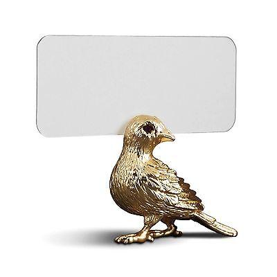L'Objet Bird Place Card Holders (Set of 6) - Gold