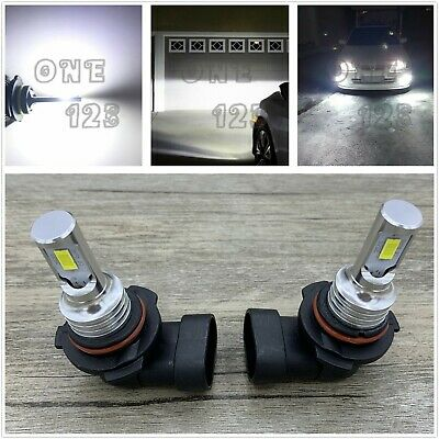 9006 HB4 LED Headlight Bulbs Kit Low Beam 6000K Super Bright White 40W 7000LM  Super White 9006 Headlight Bulbs