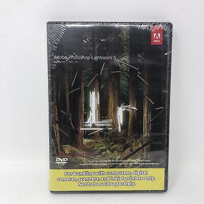 Adobe Photoshop Lightroom 5 09258-Eng JCK Windows / Mac OS - New & Sealed