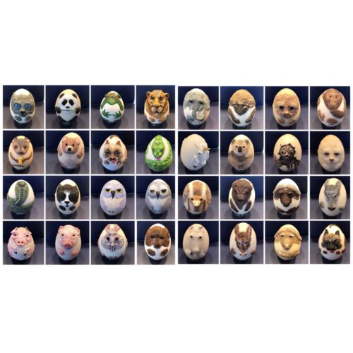 EGGCENTRICS by Bristar - Decorative Hand Painted Animal Eggs - Pick Your Animal