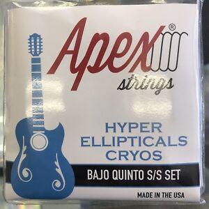 Bajo Quinto Stailess Steel Apex Strings Hyper Ellipticals Stainless Steel Set