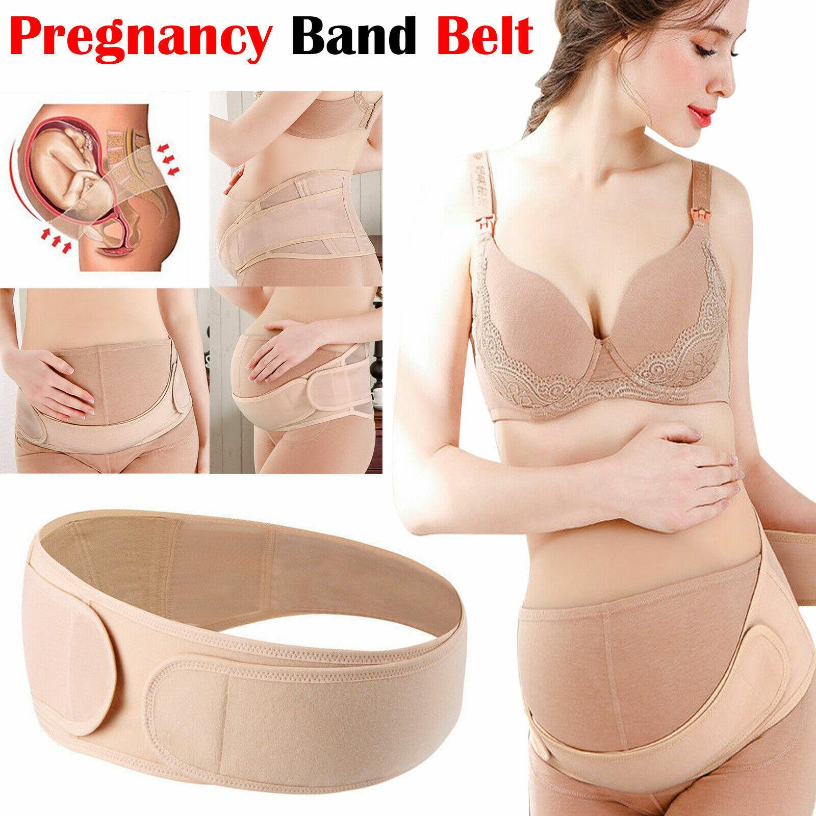 Maternity Pregnancy Band Belt Lumbar back Support Waist Belly bump Strap Lower