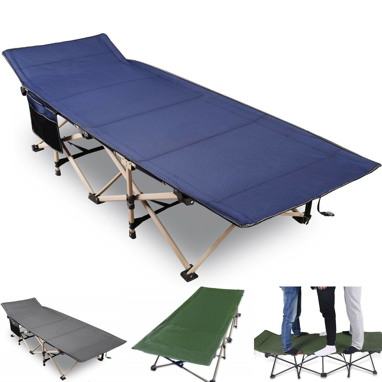 heavy duty folding camping cot for adult