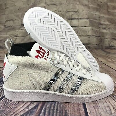 - Adidas Originals UA & SONS ULTRA STAR United Arrows white snake skin B37111