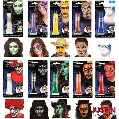 Halloween Face Paint Make Up Cream Trick or Treat Kids Fancy Dress Party 28ml](Kids Halloween Face Paint)