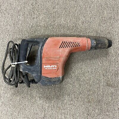 Hilti Te 500-avr 120v Concrete Demolition Hammer Tool Only
