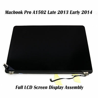 Apple Macbook Pro A1502 13 Late 2013 Early 2014 Full LCD Screen Display Assembly